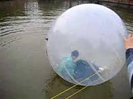 big plastic balloons big balloon in water