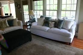 Slipcover For Sofa With Three Cushions by Chair U0026 Sofa Usual Slipcovered Sofas For Classic Sofa Idea