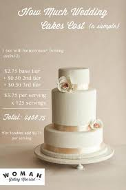 wedding cakes cost average price per serving wedding cake doulacindy