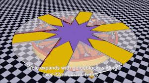 expanding table plans diy capstan table plans youtube