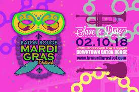 5th annual baton rouge mardi gras festival