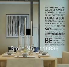 aliexpress com buy promotion large 110x55cm family house