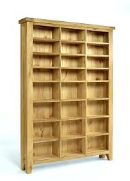 Oak Cd Storage Cabinet Cd Storage Shelves Wood Storage Cabinet Bookcase Storage