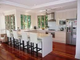 small u shaped kitchen with island u2014 smith design modern