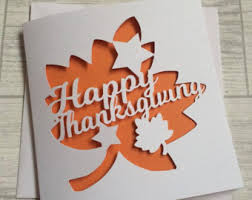 Thanksgiving Greetings Friends Thanksgiving Cards Etsy