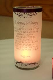 Personalized In Memory Of Gifts Wedding Candles Wedding Memorial Candles Wedding Memorial