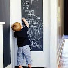 Xcm Chalk Board Blackboard Stickers Removable Vinyl Draw - Cheap wall stickers for kids rooms