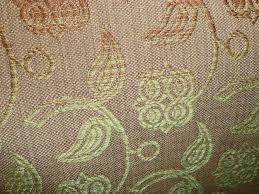 Clearance Drapery Fabric Gold Bronze Green Floral Clearance Fabric Clearance Fabric