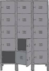 lockers clipart lockers