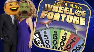 annoying orange pear play wheel of fortune