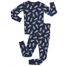 leveret big boys rockets 2 pajama set 100