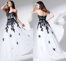 black and white wedding dresses white and black wedding dresses lace dresscab