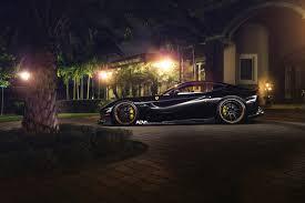 Ferrari F12 Aerodynamics - ferrari f12 gets slammed new wheels and aerodynamics