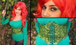 bishop halloween costume diy super easy halloween costume poison ivy lucykiins youtube