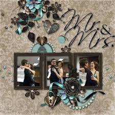 Wedding Scrapbook Page 172 Best Scrapbook Wedding Layouts Images On Pinterest