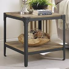 Rustic End Tables Farmhouse End Tables Birch