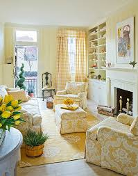yellow livingroom living room traditional living room with gentle yellow stripes