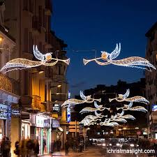 Christmas Decorations Outdoor Angel by Christmas Decorations Outdoor Street Chandeliers Ichristmaslight