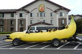car com banana car pics