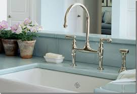 bridge faucets for kitchen faucets for farmhouse sinks padlords us