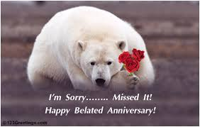 Belated Wedding Card Belated Happy Anniversary Valli Di 3404403 Geet Hui Sabse