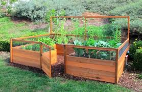 Backyard Planter Box Ideas Small Vegetable Garden Box U2013 Home Design And Decorating