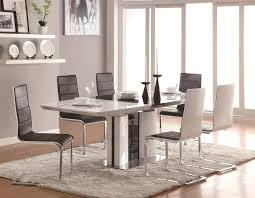 Dining Tables  Modern White Round Dining Table Round Patio Table - Designer table and chairs