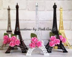 eiffel tower centerpiece this listing is for 1 one large silver eiffel tower centerpiece