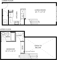 House Plans Com 120 187 Metal Building 1 Bedroom Miller Lofts At Plant Zero