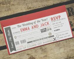 ticket wedding invitations circus ticket wedding invitations fair carnival