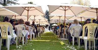 outdoor umbrella rental for functions and weddings in gauteng