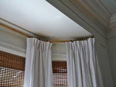 Home Depot Drapery Hardware Window Treatments With Two Windows In A Corner Drapery Styles