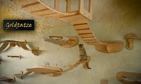Cool Cat Furniture Diy Cat Tree House Buzzchat Co Do It Yourself
