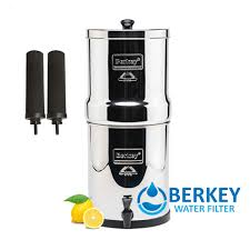 Berkey Water Filter Stand by Travel Berkey Filters 1 5 Gallons