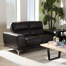 Brown Leather Loveseat Home Decorators Collection Gordon Brown Leather Loveseat