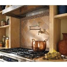 danze opulence kitchen faucet pot filler height above counter danze opulence d206057 deck mount
