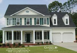colonial style homes floor plans house plan kensington a house plan house plans by garrell