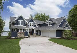 lake house with navy exterior home bunch interior design ideas