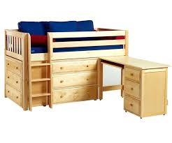 bunk bed with desk dresser and trundle loft bed with desk and dresser act4 com