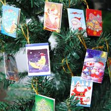 Decorate Christmas Tree Valentine S Day by Angrly 100pcs Christmas Tree Accessories Wish Cards Merry