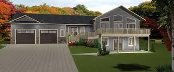 house plans with basements house plan walkout bungalow distinctive basements plans by