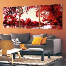 online shop 3 pieces modern wall painting free shipping home
