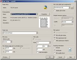 How To Make A Floor Plan In Autocad by 5 Steps To Plot With Autocad Easily Cadnotes