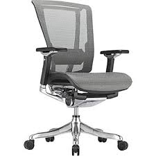 white office chair mesh aof ergohuman office chairs in mesh with headrest