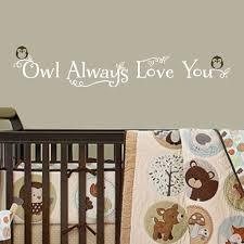 Nursery Owl Wall Decals Shop All Decals Nursery Wall Decals Owl Always You Wall