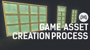 game asset creation process 3d youtube