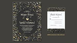 chalkboard wedding invitations read more gold confetti chalkboard wedding invites wedding