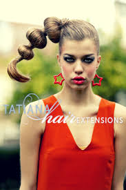 runway hair extensions avant garde hair hairstyle byn tatianahairextensions using hair