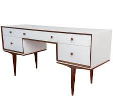 furniture stylish white writing desk design with drawers white