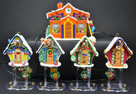 Mr Christmas Ornament - mr christmas mickey u0027s clock shop automated musical christmas